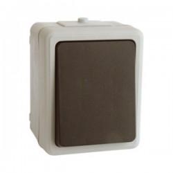 Interruptor Superficie Estanco IP44 250V/10A
