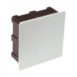 Caja Empotrar Universal Cuadrada para Conexión Eléctrica 100x100x50mm Plástico