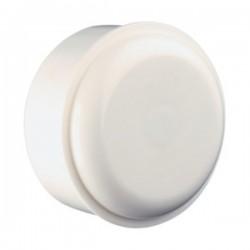 Caja de conexión eléctrica para superficie 63mm Plástico Blanco