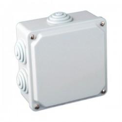 Caja de Conexión Eléctrica para Superficie Estanca 100x100x50mm Plástico