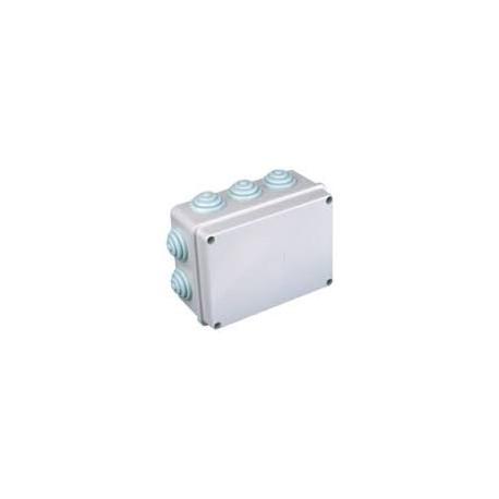 Caja de Conexión Eléctrica para Superficie Estanca 150x110x74mm.