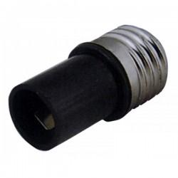 Adaptador de Rosca Bombillas Casquillo  E14 Hembra a E27 Macho