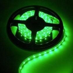 KIT COMPLETO de Tira LED (5m) Luz VERDE 60Leds/m 24w NO Impermeable