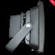 Foco Proyector Led 50W PREMIUM SMD Luz Fría 6000ºK 4000Lm Uso exterior IP65, Más potente y optimizado NEGRO