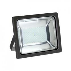 Foco Proyector Led 100W PREMIUM SMD Luz Fría 6000ºK 8100Lm Uso exterior IP65, Más potente y optimizado NEGRO