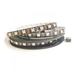 Tira LED DIGITAL RGB WS2812B Chip Integrado 5m (300 leds) DC5V Alta Gama