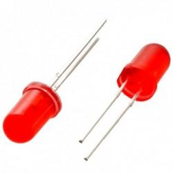 LED ROJO 5mm con Encapsulado Difuso