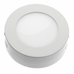 Downlight LED 18W Plafon Techo Superficie +1800Lm Panel Circular 6000ºK Luz Blanca