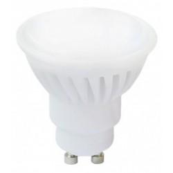 Dicroica LED 10W GU10, 650Lm, 120º, Luz Cálida 3000ºK