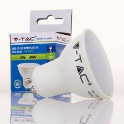 Dicroica LED V-TAC 5w GU10 320Lm Bombilla Luz Natural 110º Apertura luz