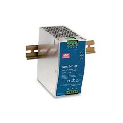 Fuente Alimentación CARRIL DIN Slim MEAN WELL 240W 24V