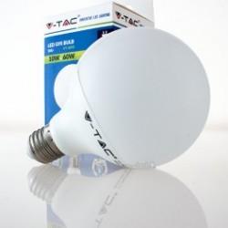 Bombilla LED V-TAC 10w E27 810Lm Luz Natural 4500ºK Globo G95 200º Apertura Luz