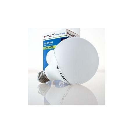 Bombilla LED V-TAC 10w E27 810Lm Luz Fría 6000ºK Globo G95 200º Apertura Luz
