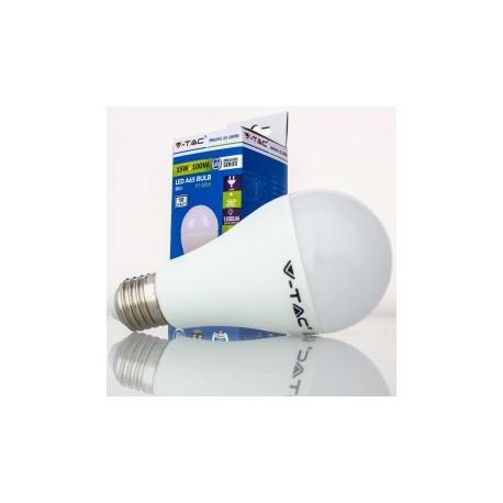 Bombilla LED V-TAC 15w E27 1500Lm Luz Cálida 3000ºK Esférica A65 200º Apertura Luz