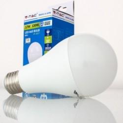 Bombilla LED V-TAC 17w E27 1800Lm Luz Cálida 3000ºK Esférica A65 200º Apertura Luz
