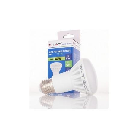 Bombilla LED V-TAC 8w E27 500Lm Luz Natural 4500ºK R63 Proyector 120º Apertura Luz