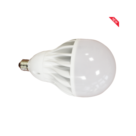 Bombilla LED V-TAC 30w E27 2200Lm Luz Natural 4500ºK Esférica A120 1500º Apertura Luz