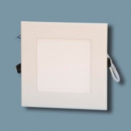 Downlight Led 15w Cuadrado, Mini Panel Blanco Cálido