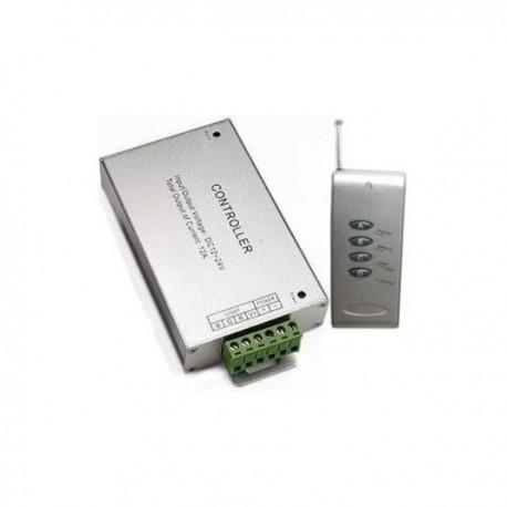Controlador Tira Led RGB Dimmer + Control Remoto IR 4 Botones