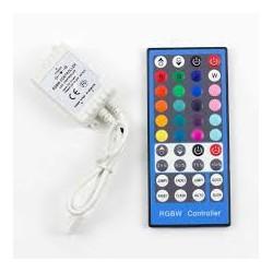 Controlador Infrarrojo IR para Tiras RGBW Multicolor+Monocolor