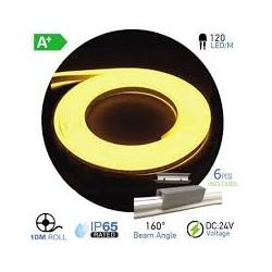 NEON Flex LED 24V VIOLETA PURO  (10 metros)  10W/m