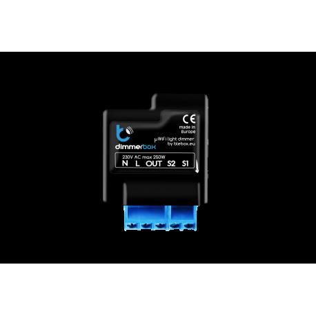 DimmerBox. Interruptor-Regulador Inteligente Inalámbrico uWiFi