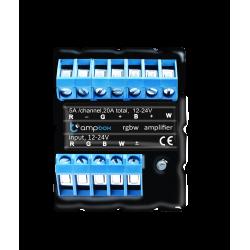 ampBox. Amplificador Profesional LED de Cuatro Canales