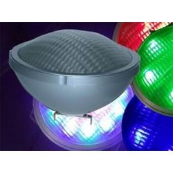 Foco Piscina Led RGB Bombilla PAR56 18w + Control Remoto, Proyector Luminaria Luz Multicolor
