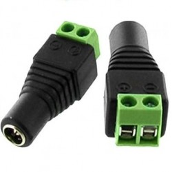 Conector Tira Led SMS5050 SMD3528 Salida DC Hembra Mini Jack