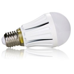 Bombillas LED 7w chip Samsung Luz Fria,  470Lm Led SMD5630 (220V) Casquillo Rosca E27