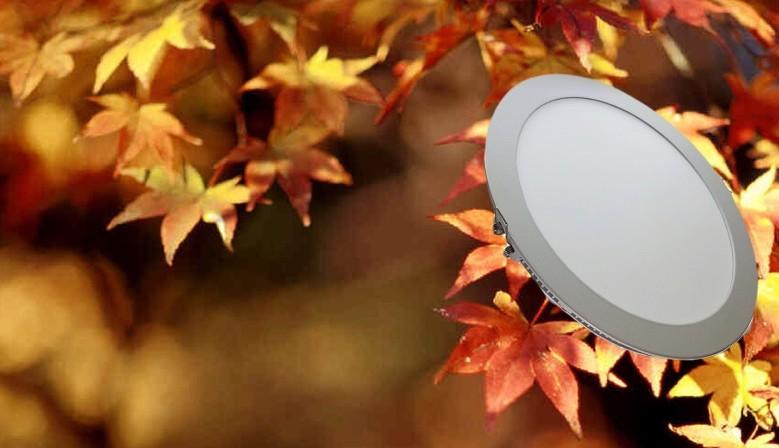 Downlight LED Ultrafino 18W Panel circular +1300Lm Luz Fría 6000ºK sólo 12.35€