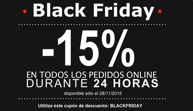 Black Friday 15%