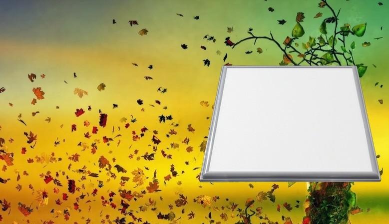 Panel LED Techo Extrafino 45W +3600Lm Luz Fría Medidas 60x60x1.5cm Incluye Driver
